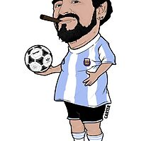 Maradona by gcartersdesigns