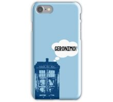 """GERONIMO!"" - 11th Doctor iPhone Case/Skin"