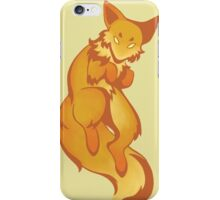 Inky Fox - Color iPhone Case/Skin
