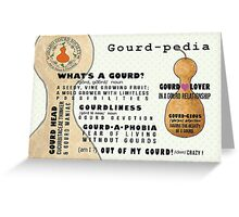 IDGS Gourd-pedia Note Cards-Design 1 Greeting Card