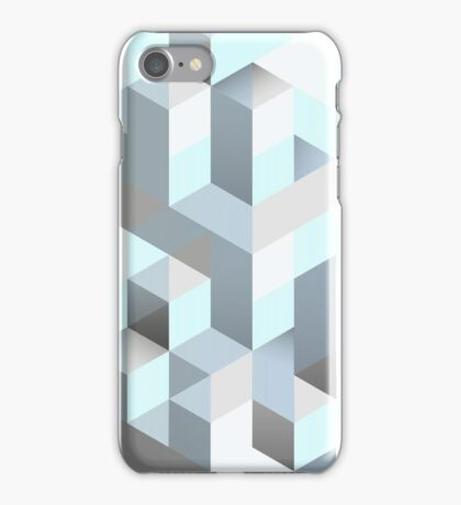 Isometric Color Cube (case, shirt, posters) iPhone Case/Skin