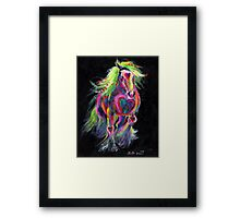 Queen Of Hearts Pony Framed Print
