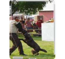 trained to attack  iPad Case/Skin