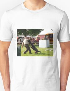 trained to attack  Unisex T-Shirt