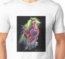 Queen Of Hearts Pony Unisex T-Shirt