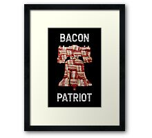 Bacon Patriot - American Liberty Bell - United States of America Framed Print