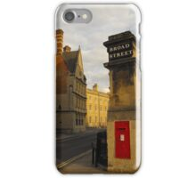Broad Street Post iPhone Case/Skin