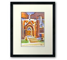 Entranceway II Framed Print