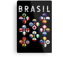Brasil - World Football or Soccer - 2014 Groups - Brazil Metal Print