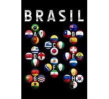 Brasil - World Football or Soccer - 2014 Groups - Brazil Photographic Print