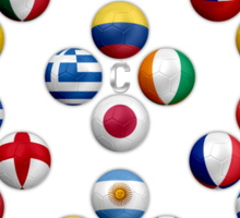 Brazil - World Football or Soccer - 2014 Groups - Brasil Sticker