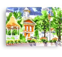 Courthouse Square Canvas Print