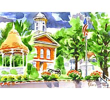 Courthouse Square Photographic Print
