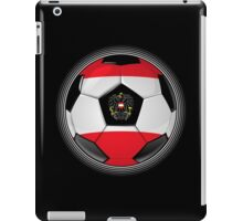 Austria - Austrian Flag - Football or Soccer iPad Case/Skin