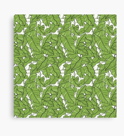 Pantone Green Canvas Print