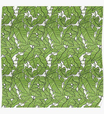 Pantone Green Poster