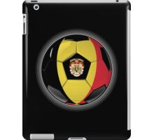 Belgium - Belgian Flag - Football or Soccer iPad Case/Skin