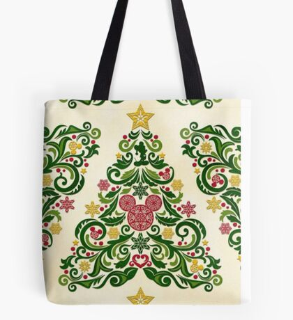 Disney Christmas Tree Tote Bag