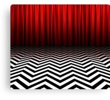 Twin Peaks - Black Lodge Canvas Print