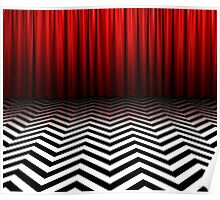 Twin Peaks - Black Lodge Poster