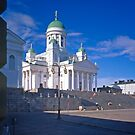 Helsinki Cathedral from the University 2 by Priscilla Turner