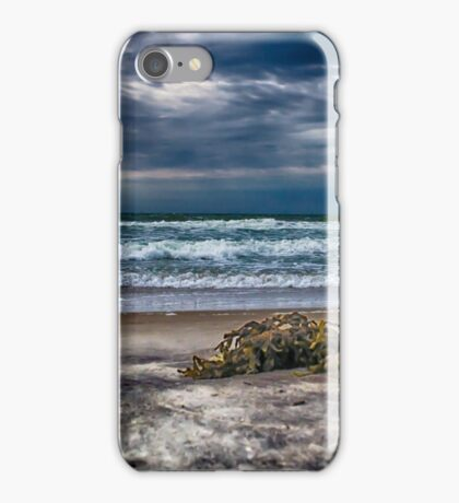 Ocean after the storm iPhone Case/Skin