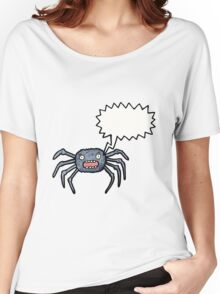 cartoon spider Women's Relaxed Fit T-Shirt