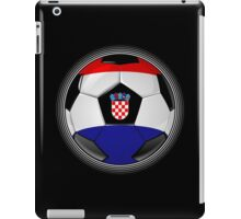 Croatia - Croatian Flag - Football or Soccer iPad Case/Skin