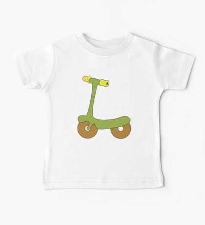 kid scooter Baby Tee