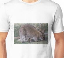 Wallaby and curious joey Unisex T-Shirt
