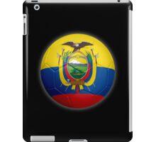 Ecuador - Ecuadorian Flag - Football or Soccer 2 iPad Case/Skin