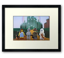 Off To See The Wizard... Framed Print
