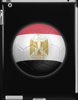 Egypt - Egyptian Flag - Football or Soccer 2 by graphix