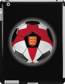 England - English Flag - Football or Soccer by graphix