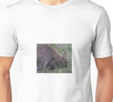 Wallaby and joey Unisex T-Shirt