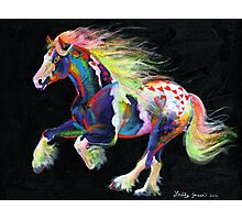 Trail Of Hearts Pony Photographic Print