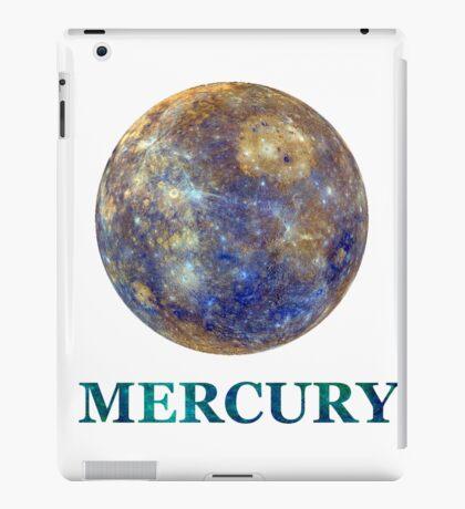 Majestic Mercury (with words!) iPad Case/Skin