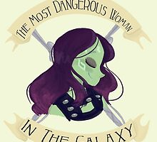 The Most Dangerous Woman in the Galaxy by Shelby  Wolf