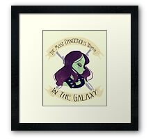 The Most Dangerous Woman in the Galaxy Framed Print