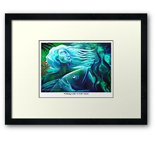 Nothing Like A Soft Touch Framed Print