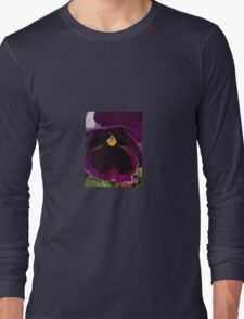 purple flower Long Sleeve T-Shirt