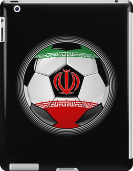 Iran - Iranian Flag - Football or Soccer by graphix