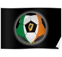 Ireland - Irish Flag - Football or Soccer Poster