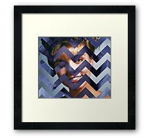 Twin Peaks - Laura Black Lodge Framed Print