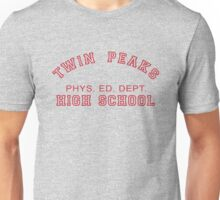 Twin Peaks High School Phys. Ed. Dept. Unisex T-Shirt