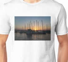Sunset Through the Rigging -  Unisex T-Shirt