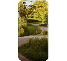 meandering path iPhone Case/Skin