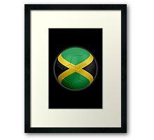 Jamaica - Jamaican Flag - Football or Soccer 2 Framed Print