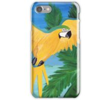 Yellow Parrot  iPhone Case/Skin