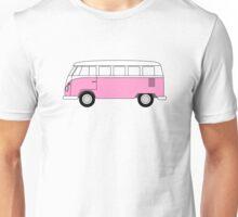 VW Type 2 Pink Unisex T-Shirt